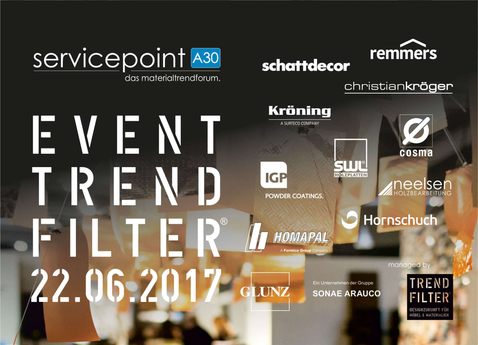 trendforum servicepoint a30 feiert zehnten geburtstag trendfilter. Black Bedroom Furniture Sets. Home Design Ideas